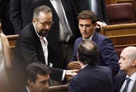 """Ciudadanos celebra que Rajoy asuma los """"cambios de rumbo"""" que le ha exigido"""