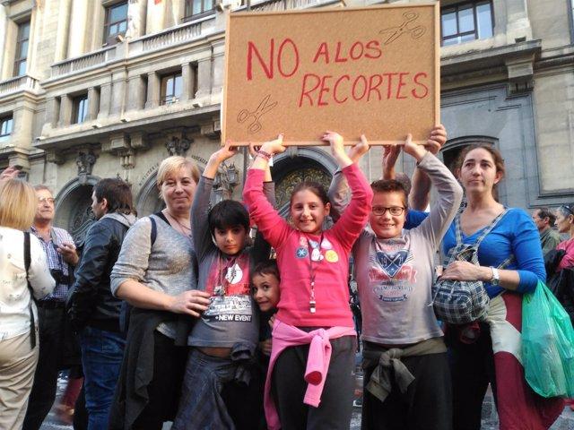 Manifestación Educativa en Madrid