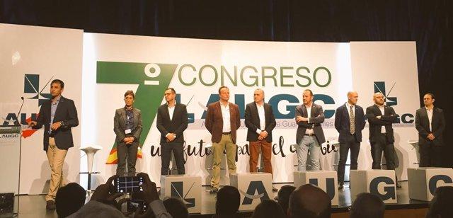 Séptimo congreso de la Asociación Unificada de Guardias Civiles (AUGC)
