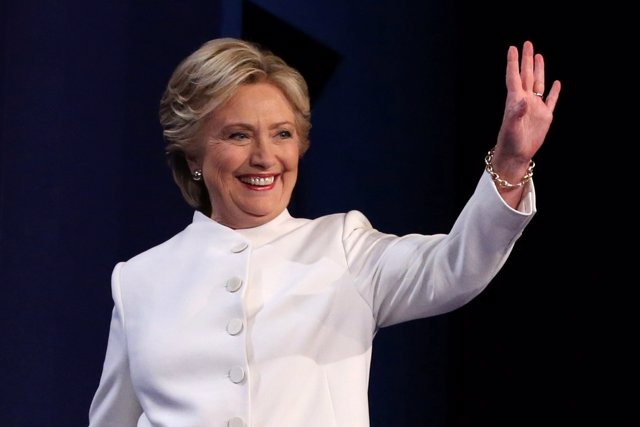 Hillary Clinton en el último debate