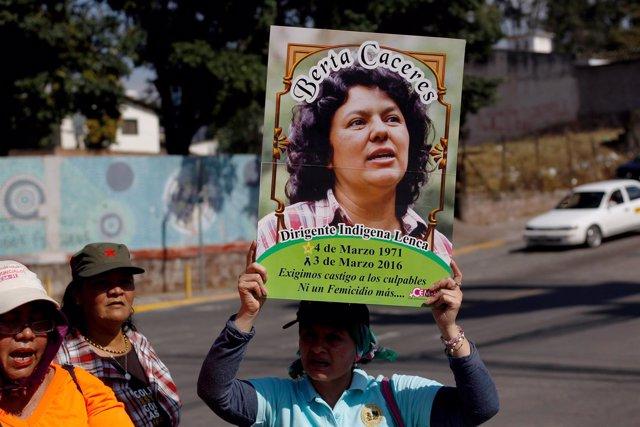 Activista indígena Berta Cáceres