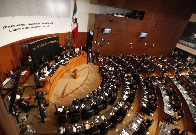El Senado de México.
