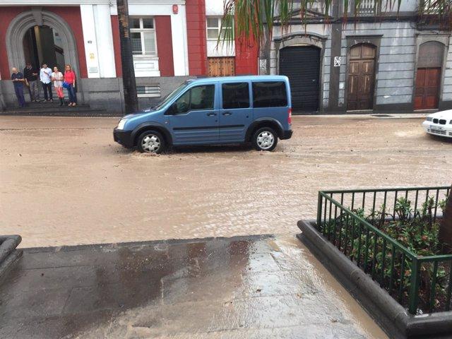 Lluvia en Las Palmas de Gran Canaria