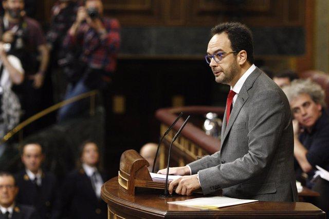 Intervención de Antonio Hernando en el Congreso