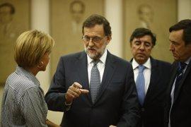 Margallo, Fernández Díaz y Cospedal evitan especular sobre si serán ministros