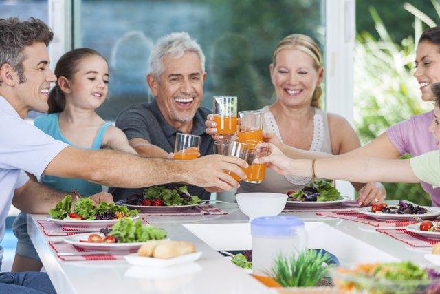 Beneficios de celebrar para los niños
