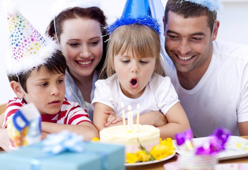 Celebraciones familiares: el sentido de celebrar para los niños