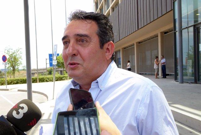 El exalcalde de Sabadell Manuel Bustos
