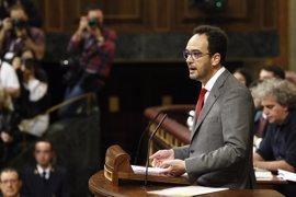 El discurso de Antonio Hernando en la investidura, en 10 frases