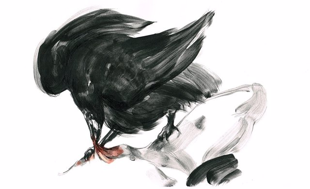 Obra de Paula Bonet incluida en 'La Sed'