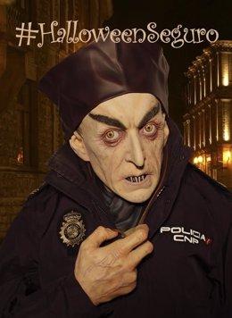 Campaña de la Policía por un Halloween seguro