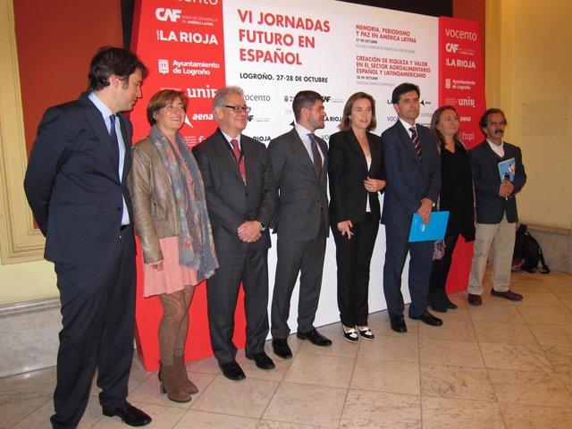 Inauguración de Jornadas 'Futuro en español'