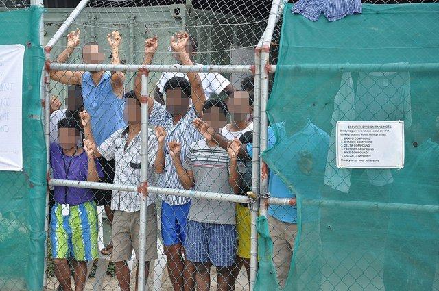 Centro de detención de solicitantes de asilo en Manus