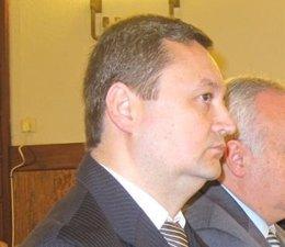 El empresario Tauroni en el juicio por la primera pieza del caso