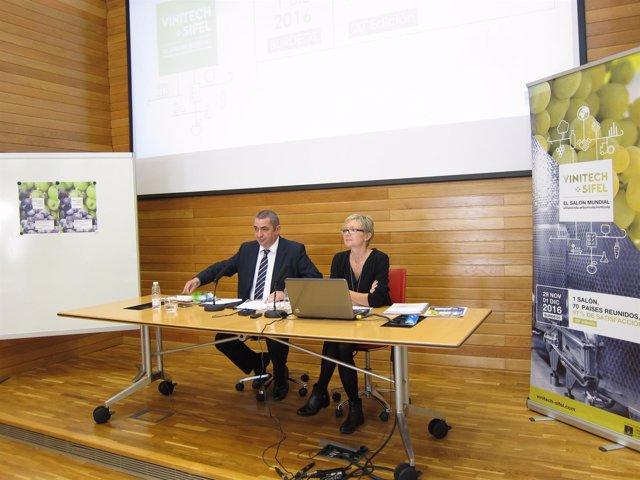 Presentación feria Vinitech-Sifel en Logroño