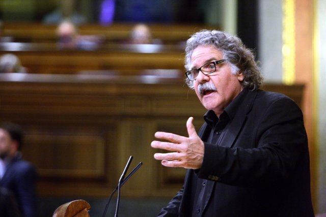 Joan Tardà, portavoz de ERC en el Congreso
