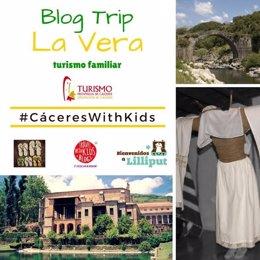 Blogueros de viajes con niños visitan la comarca cacereña de La Vera