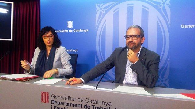 El secretario general de Trabajo Josep Ginesta