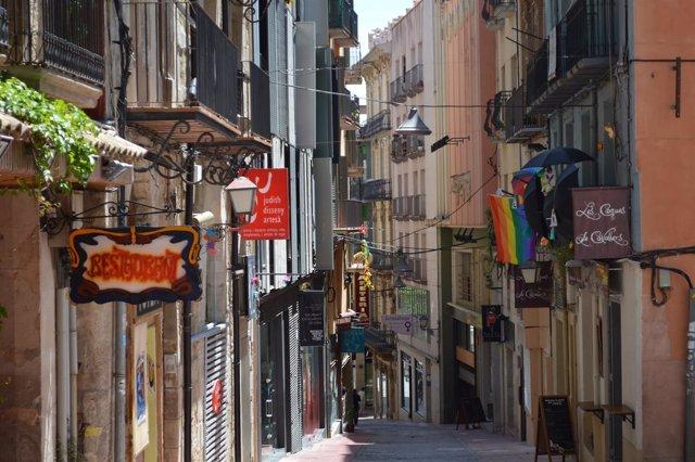 Calle Cavallers de Lleida