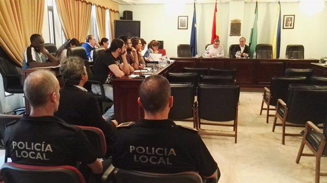 Pleno municipal de San Juan de Aznalfarache