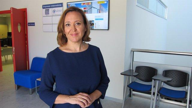 La consejera de Educación de Aragón, Mayte Pérez