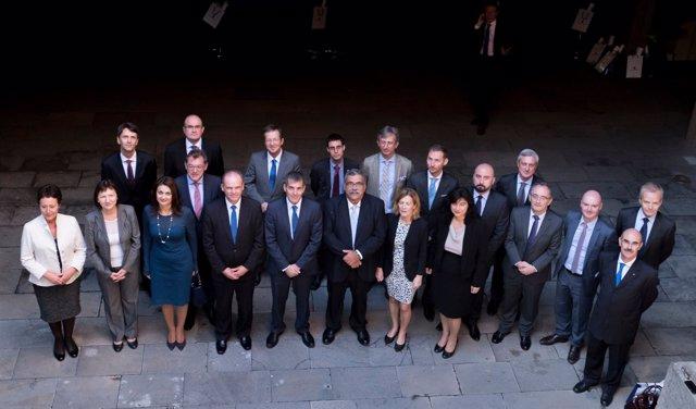 Clavijo, con los embajadores
