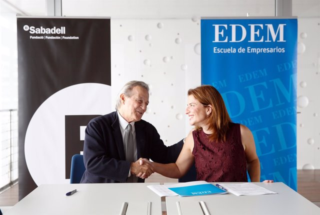 Fundación Banco Sabadell beca a cuatro alumnos de EDEM