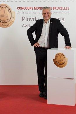 Baudouin Havaux, uno de los nuevos Alcaides del Museo del Vino