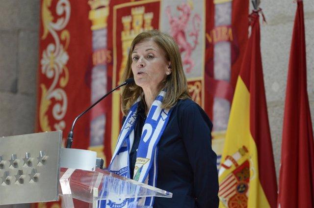 ?María Victoria Pavón, Presidenta Del C.D. Leganés