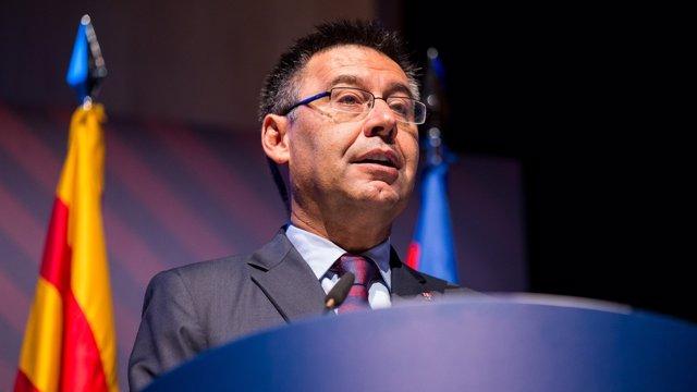 El presidente del FC Barcelona Josep María Bartomeu