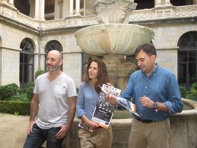 Presentación de la película 'Rumbos'