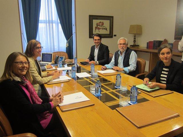 Mesa del Parlamento de Galicia en su X Legislatura