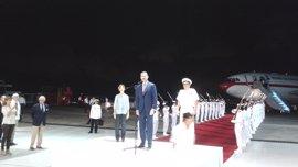 El Rey Felipe llega a Colombia para participar en la XXV Cumbre Iberoamericana