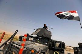 Las fuerzas de Irak arrebatan a Estado Islámico dos localidades al sur de Mosul