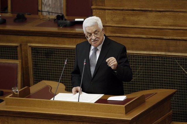 El presidente palestino, Mahmud Abbas