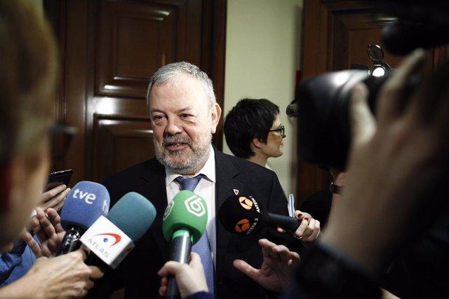 Pedro Azpiazu en el Congreso