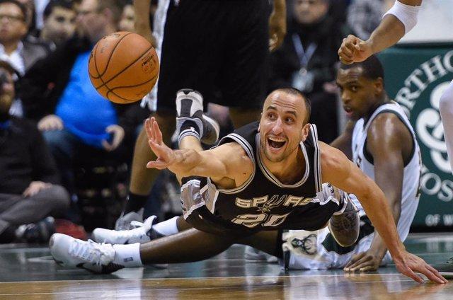 Manu Ginobili San Antonio Spurs NBA