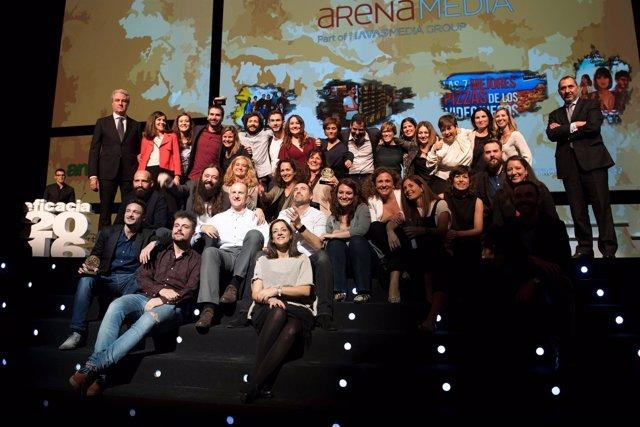 Premios Eficacia 2016