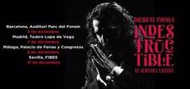 Diego 'El Cigala' llevará su gira 'Indestructible' a Barcelona, Madrid, Málaga y Sevilla