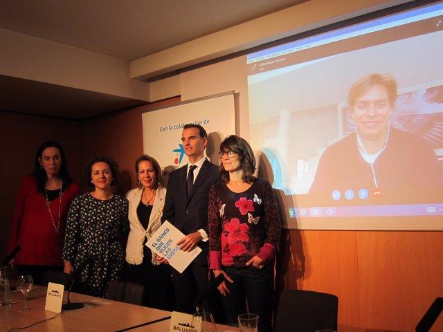 Barlos Baute presenta por videoconferencia concierto solidario en Pamplona.