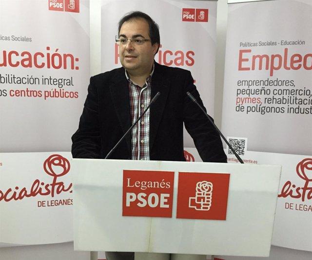 Santiago Llorente, PSOE