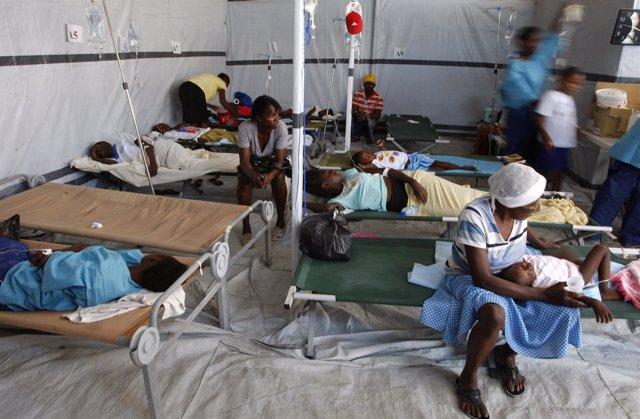 Cólera en Haití