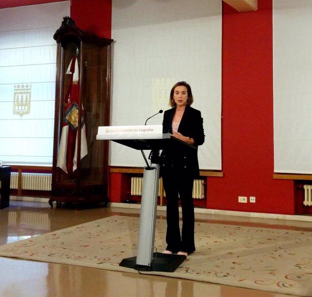 Gamarra, en la presentación de la Ordenanza Fiscal 2017