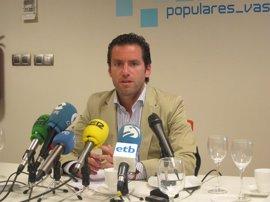 PP presenta un recurso para exigir que los parlamentarios vascos acaten la Constitución española