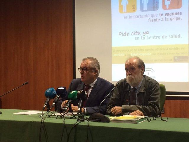 El delegado de Salud en Huelva, Rafael López