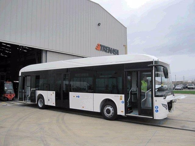 Imagen de uno de los autobuses que fabrica Vectia.