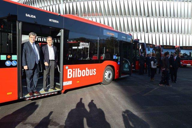 Nuevos vehículos de Bilbobus