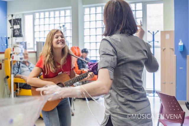 Inauguración de la Gira 'Música en vena' en el Virgen del Rocío