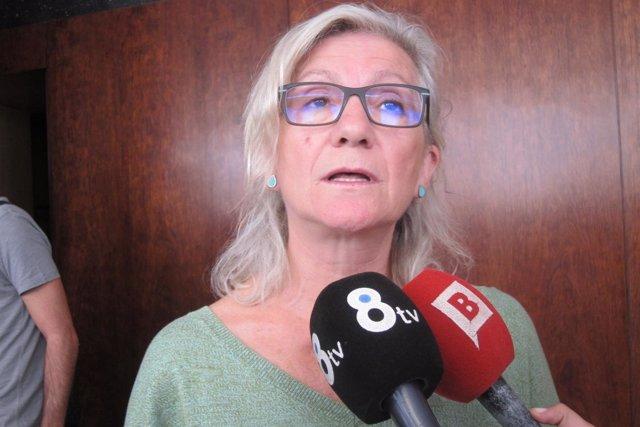 La líder de la CUP en Barcelona, Maria José Lecha