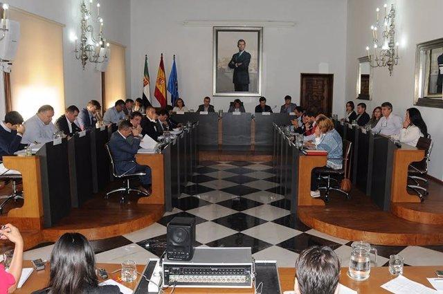 Pleno de octubre de la Diputación de Cáceres